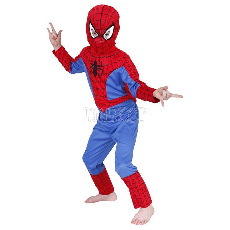 Disfraz Spiderman Classic para niño - Dresoop.es