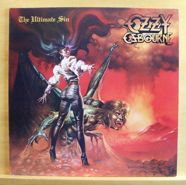 OZZY OSBOURNE The ultimate Sin m Vinyl LP OIS
