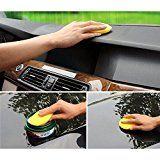 12x Car Waxing Polish Foam Sponge Wax Applicator Cleaning Detailing Pads