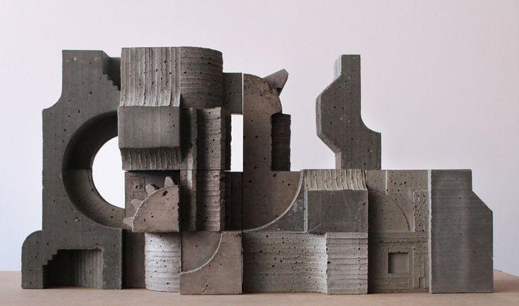 Concrete Architectural Sculptures by David Umemoto | Inspiration Grid | Design…