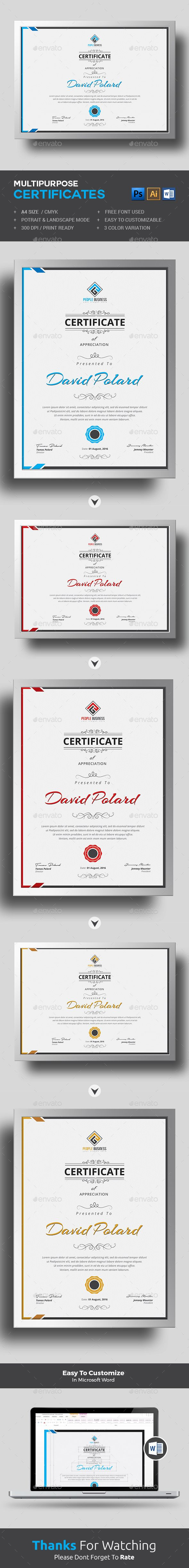 Certificate Template suitable for any business, company or institution on completion of any course, training ,degree or job well done! Download  https://graphicriver.net/item/certificate/17623087?ref=themedevisers