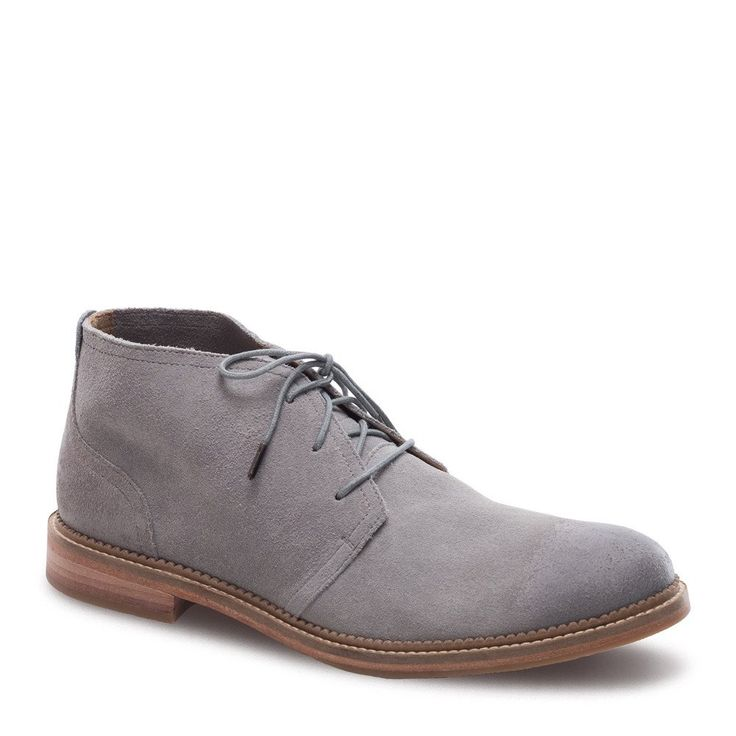 These handcrafted suede chukka boots are the so soft and supple you will want to wear them with just about everything in your closet. Unlined and breathable for