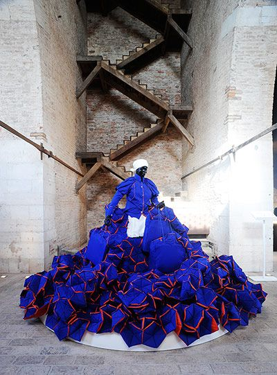 ...of Prosperity - Mary Sibande - installation by a fabulous South African artist