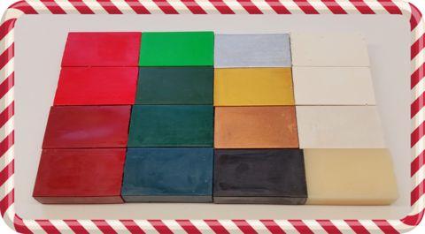 I Love Christmas encaustic wax set