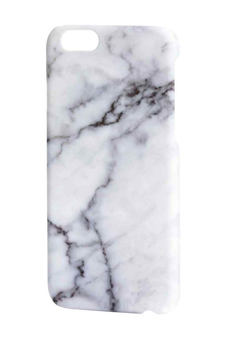 Funda para iPhone 6/6s: Funda rígida para smartphone en plástico con estampado de mármol. Indicada para iPhone 6/6s.