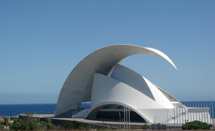 Teatro dell'Opera di Tenerife, Santiago Calatrava