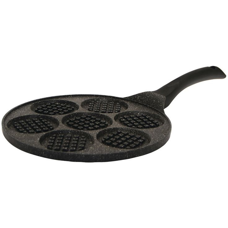 THE ROCK by Starfrit 030322-006-0000 THE ROCK(TM) by Starfrit(R) 10 Mini Waffle Pan