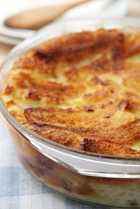 Banana bread and butter #pudding