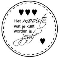 Leuk idee voor een muursticker. Binnenkort verkrijgbaar bij www.muurtekstenonline.nl in diverse formaten en kleuren.