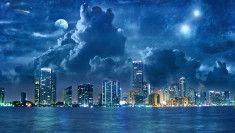 scifi planeta na nebi