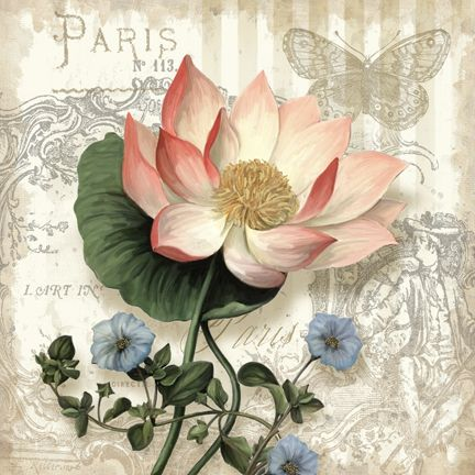 """Springtime in Paris I"" (c) Abby White. See Abby White's beautiful art portfolio at http://www.porterfieldsfineart.com."