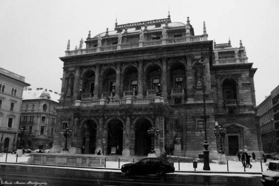 Opera House, Budapest - as seen by our photoblogger Mark Mervai
