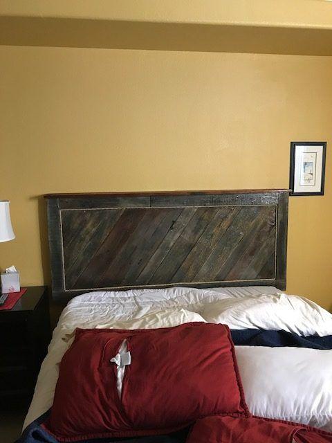 718 best Pallet Beds & Headboards images on Pinterest   Bedding ...