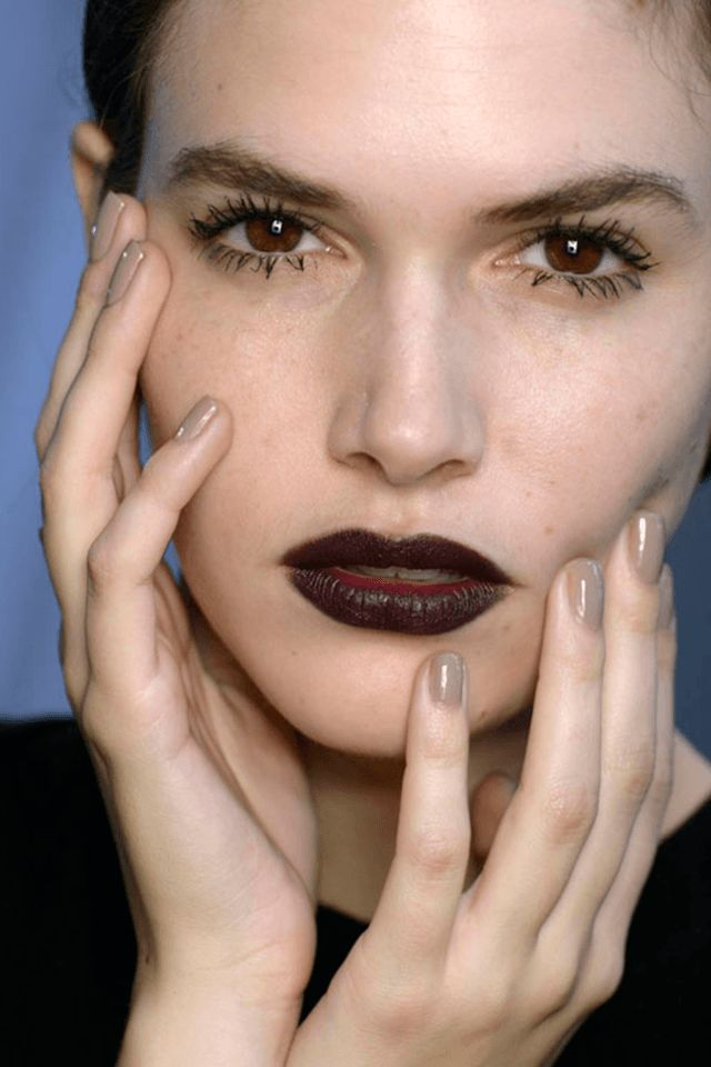 MANICURAS DE MODA OTOÑO INVIERNO 2016-17 - Dior nails Fall Winter 2016-17