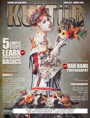 Kultur Mag: Kultur - Issue 36.4 - August 2014, $27.95 from MagCloud http://www.kulturmagazine.com