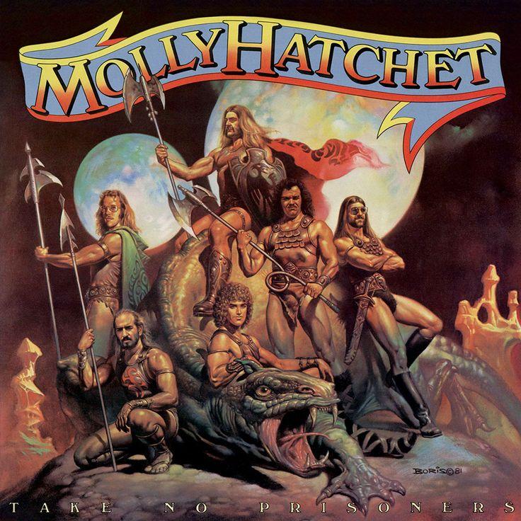 Molly Hatchet dessin de Frank FRAZETTA