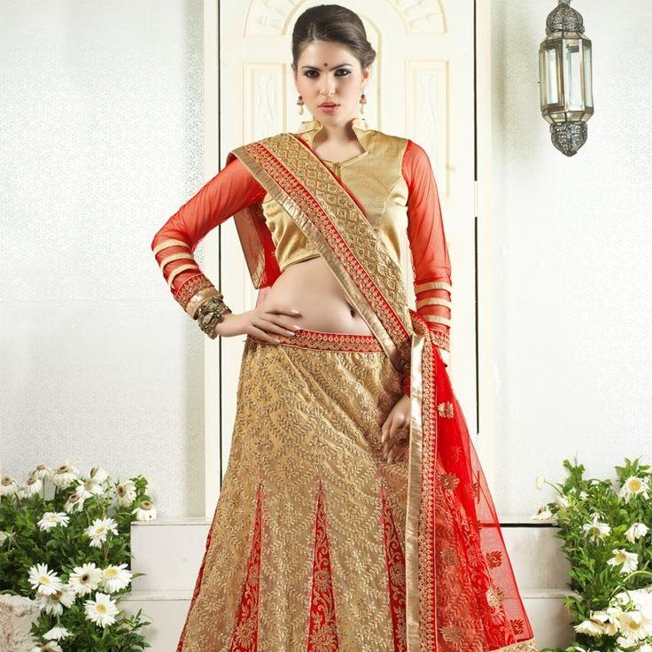 Buy Impeccable Pure Net Designer Lehenga in Red Colour for wedding.  #wedding #weddingsaree #lehenga #weddingshopping