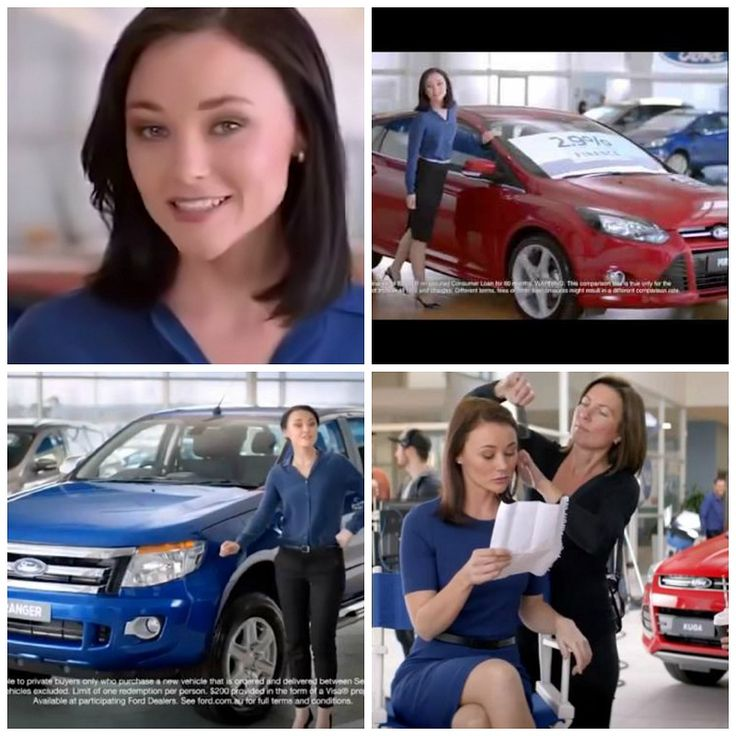 """Who's That Girl?  If you've ever thought to yourself – who's that girl from the Ford commercials?  You're not alone, there has been a lot of interest lately with even a Facebook page called """"That Ford ad girl"""" dedicated to her.  Click here to learn more... http://adrianbriencars.com.au/blog/5707/whos-that-girl/"""