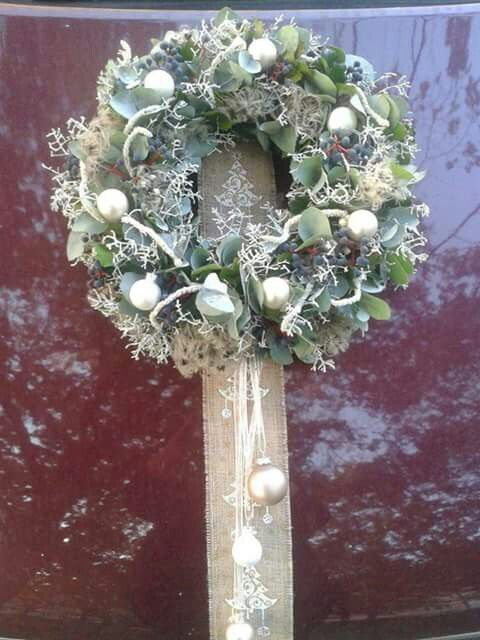 Wreath from Fusion Flower Magazine
