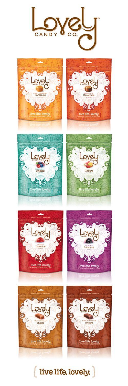 Lovely Candy Company via @Matt Valk Chuah Dieline