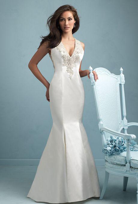 Smooth & Shining Taffeta Wedding Gowns. #weddings #gowns #taffeta