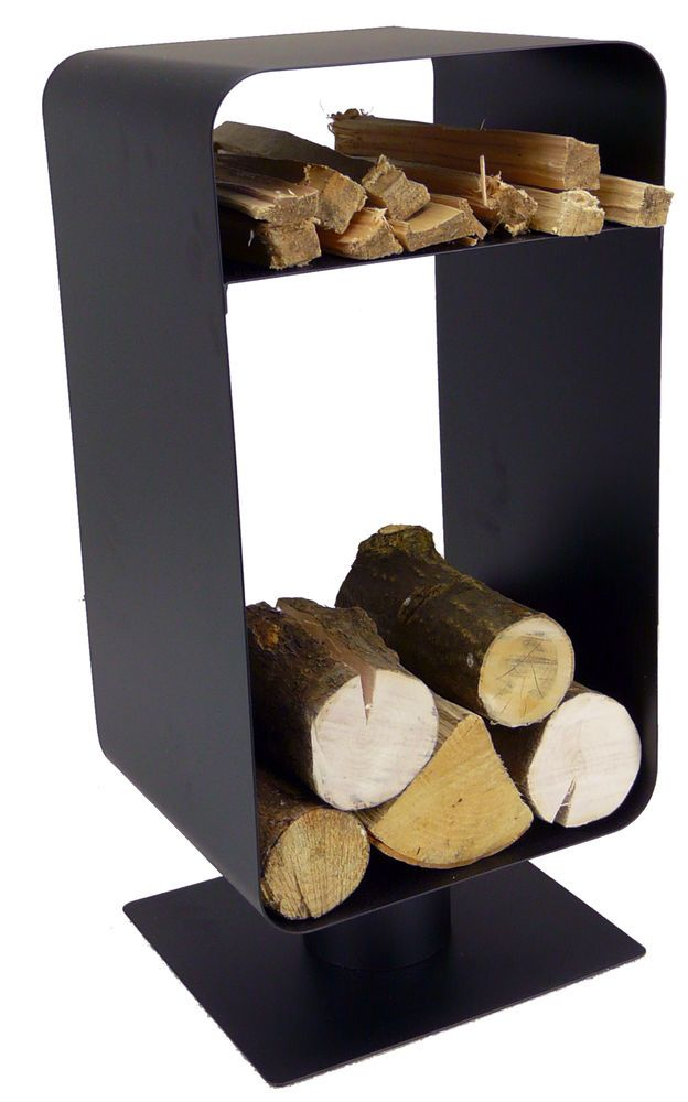 Fireside log holder - nordic black - keep your logs and kindling tidy - 17 Best Images About Log Storage On Pinterest Wood Store, Wood