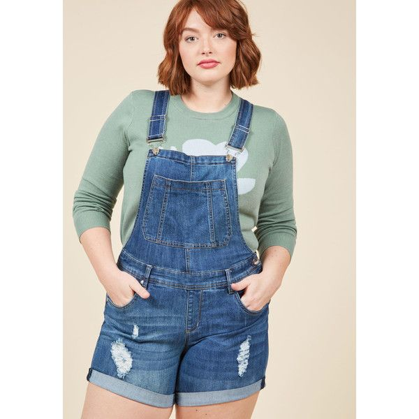 97cde23d009 Cuff and Tough Denim Romper - 14-24 - Plus Sizes Available ( 50)