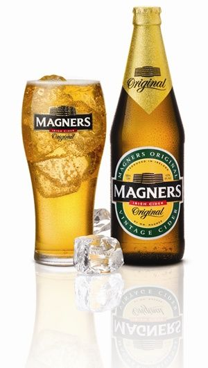 Magners Irish Cider in a pub in Ireland on St Patricks Day!