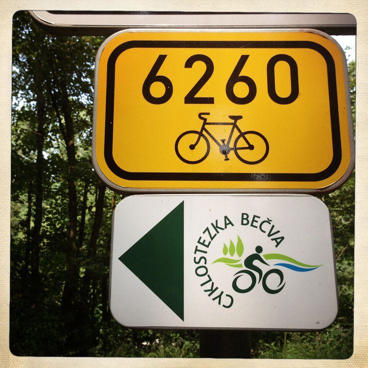 Me srdce patří Česku - Cyklostezka Bečva