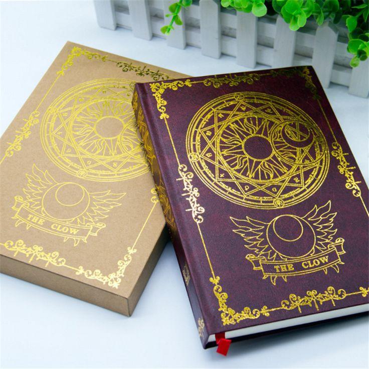 2016 Japonais Anime Card Captor Sakura Magique Cahier Journal Livre Papeterie Cadeau