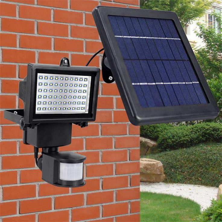 ueasy solar power led light super bright 60 led solar sensor light with solar