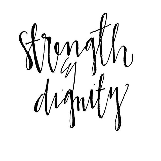 She is clothed with strength and dignity, and she laughs without fear of the future. -Proverbs 31:25 . . . . #strength #dignity #handwritten #handlettering #lettering #written #penandpaper #calligraphy #moderncalligraphy #follow #followforfollow #instafollow #instadaily #bible #jesus # christianity #biblelettering #bibleart #verselettering #bibleverse #verse #proverbs #proverbs31:25