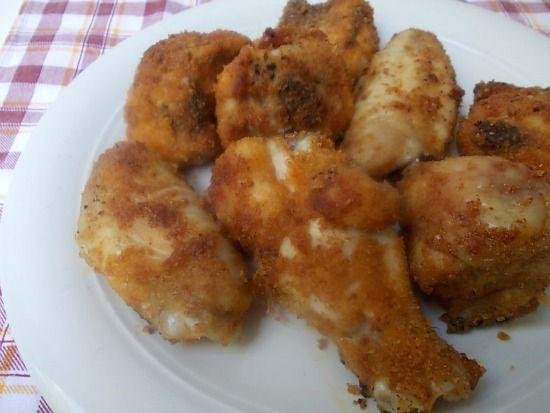 Ali di pollo piccanti al forno