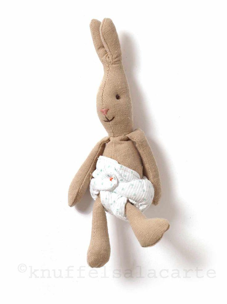 Micro bunny doll with diaper / Maileg http://www.knuffelsalacarte.nl/micro-bunny--p-16912.html
