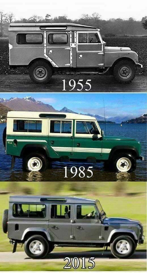 Land Rover Station Wagon long evolution design's