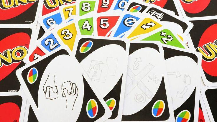 Blank Uno Card Template Fresh Uno Blank Wild Card in 2020 ...