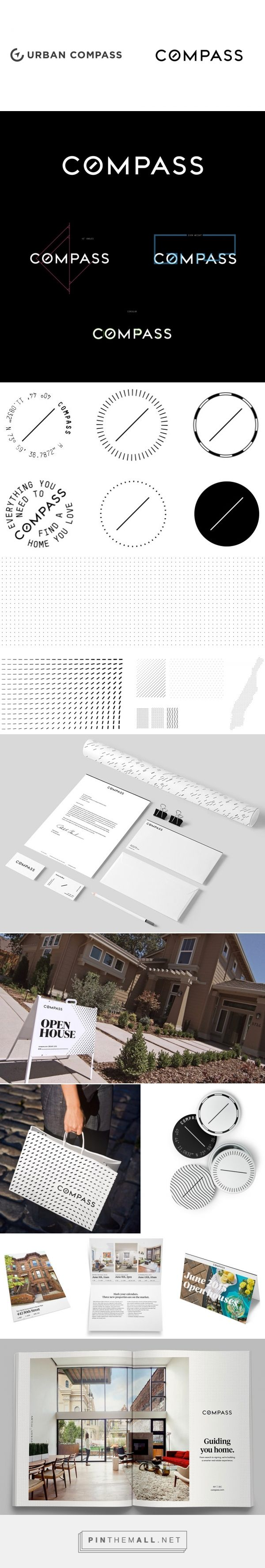 Brand New: New Name, Logo, and Identity for Compass done In-house - created via http://pinthemall.net
