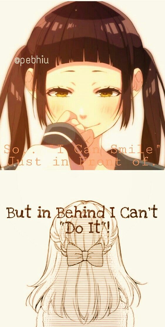 The Real Fact That's True or Fake Smile ? #animequotes