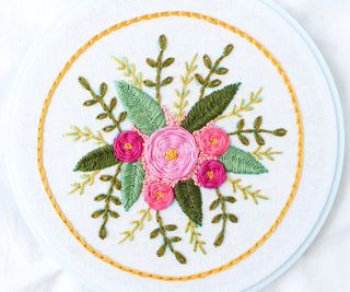 Hello and welcome to my hand embroidery class! In this class, I'll teach you all the basics of hand embroidery. You'll complete two beautiful samplers that will teach you 11 different stitches. I've also included two final class patterns and a tool-themed embroidery border pattern so you can customize the final pattern with your own text!In addition to stitches, I'll teach you about hoops, floss and fabric, as well as how to make and transfer patterns and finish your embroider...