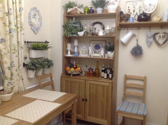 Уголок деревенского Прованса на кухне - IKEA FAMILY