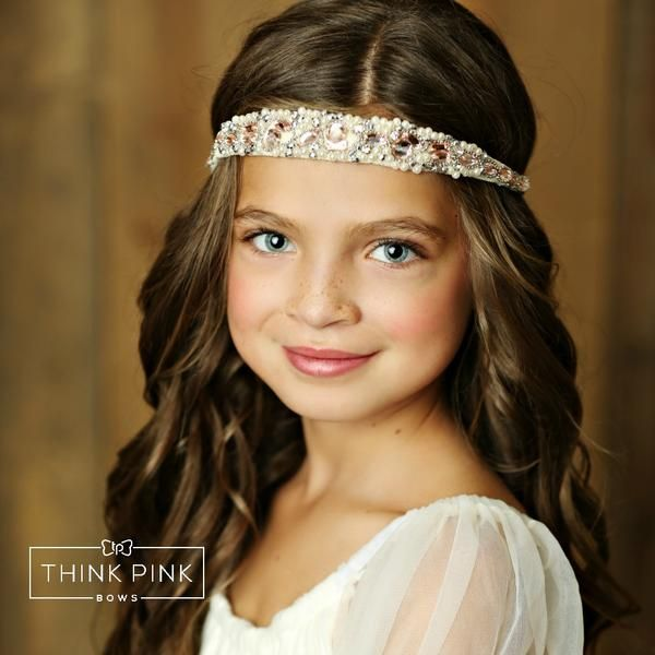 Adorable Headband from our Boutique newest collection!! Our beautiful Divine Love Headband features a stunning detailed vintage style embellished with intricately placed details of styles faux pearls and a touch of sparkly rose gold color beads in halo style!  This headband goes almost all the way around and is attached with a matching black elastic band which allows adjustment and comfort for even the most sensitive heads. Great for Bridal photo prop, flower girls, weddings, easter or…