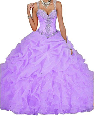 Ikerenwedding Women's Spaghetti Beading Pearls Sheer Back Ball Gown Quinceanera Dresses Purple US02 Ikerenwedding http://www.amazon.com/dp/B012UUOLIO/ref=cm_sw_r_pi_dp_lkcWvb1PPV023