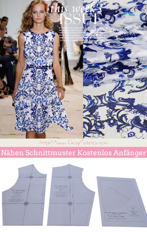 The 10 best Nähen Schnittmuster images on Pinterest | Sewing ...