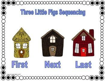 Three Little Pigs (fiction) and Wolves (Nonfiction) Common Core two week unit