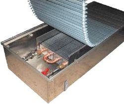Внутрипольно отопительные конвекторы EVA COIL - KG200 Встраиваемый в пол конвектор Артикул: нет Встраиваемый в пол конвектор EVA COIL - KG200 с естественной конвекцией, без вентилятора, решетка анодированная (серебристая). Гарантия производителя.