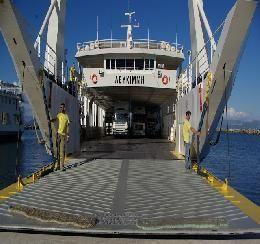 FERRY BOAT FOR SALE. CORFU, GREECE. LEFKIMMI-IGOUMENTISA LINE.