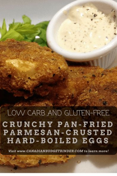Low-Carb CRUNCHY PAN-FRIED PARMESAN CRUSTED HARD-BOILED EGGS  http://bit.ly/2m04VRJ
