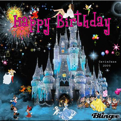 Happy Birthday - Disney Animated Gif                                                                                                                                                                                 More