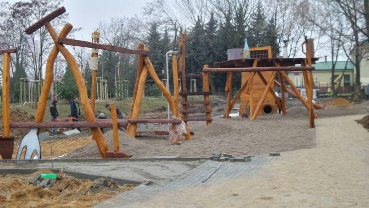 Plac zabaw dla dorosłych | ul. Rakuszanki (Ursus)