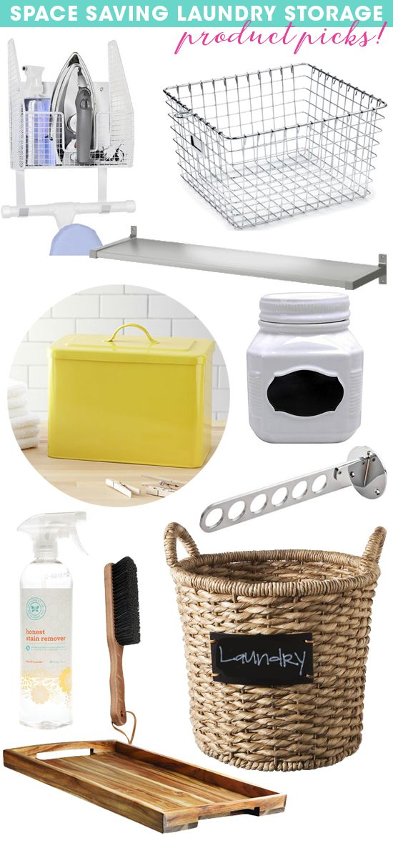 Everything you need for a laundry room!